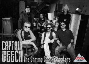 CAPTAIN GEECH AND THE SHRIMP SHACK SHOOTERS @ THE DOCK | Quincy | Illinois | United States