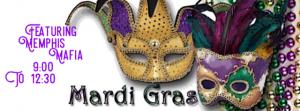 MARDI GRAS PARTY featuring MEMPHIS MAFIA @ THE DOCK